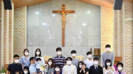 유아 세례성사 2021.06.05